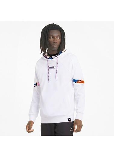 Puma Erkek Beyaz International Sweatshirt 531063.002 Beyaz